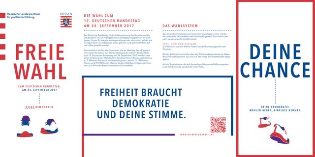 Faltblatt Freie Wahl
